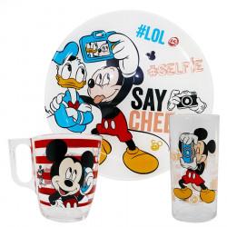 Set Tas, Filxhan dhe Pjate per Femije Mickey