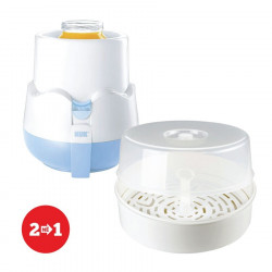 Set Nuk Ngrohes Thermo Rapid + Reer Sterilizues per Mikrovale