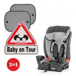"Set Reer Shenje Makine ""Baby on Tour"" + Reer Tende per Dritare Makine 2 cope + Chipolino Ndenjese per Automjete 9-36 kg"
