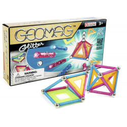 Geomag Formuese Manjetike Glitter 22 cp