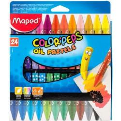Maped Pastel Vaji 24 Color`Peps