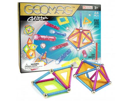 Geomag Formuese Manjetike Glitter 44cp