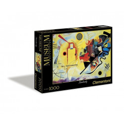 Clementoni Puzzle Museum Giallo Rosso 1000 Pjese