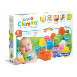 Clementoni Loder 24 Soft Black Baby Clemmy