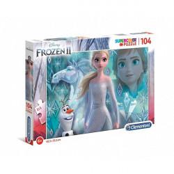 Clementoni Puzzle Frozen 104 cp
