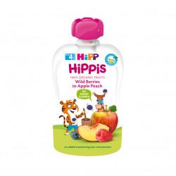 Hippis Fruta Pylli Mollë dhe Pjeshkë 100g