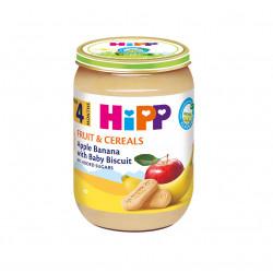 Hipp Pure Mollë Banana Biskotë 190g