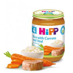 Hipp Pure Orizi me Karrotë dhe Mish Viçi