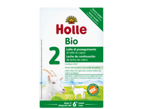 Holle Qumesht Organic Infant Goat Milk Formula 2