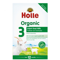 Holle Qumesht Dhie Organic Infant Goat Milk Formula 3 400gr