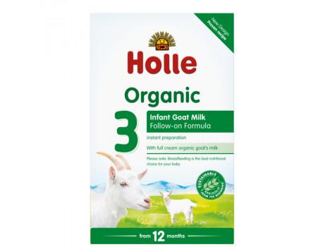 Holle Qumesht Organic Infant Goat Milk Formula 3