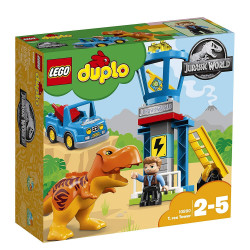 Lego Duplo Jurassic World T Rex Tower 10880