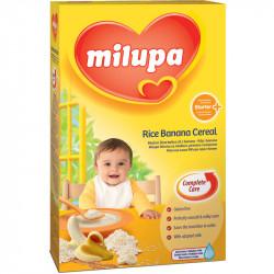 Milupa Krem me Oriz + Banane + Qumesht 4 muaj+ 250gr