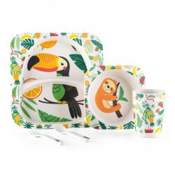 Set ushqimi per femije Bamboo - Jungle