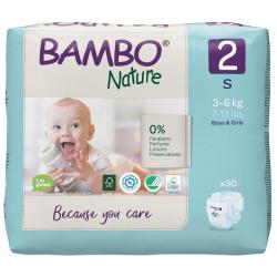 Bambo Nature Pelena nr.2 (3-6 kg) 30 cp