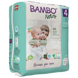 Bambo Nature Pelena nr.4 (7-14 kg) 24 cp