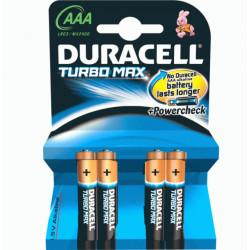 Bateri Duracell Turbo AAA 4