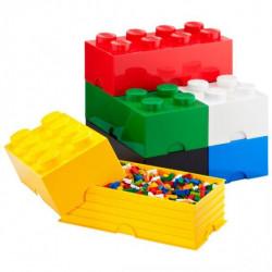 Lego Brick Aqua Light Blue Big 4 Units