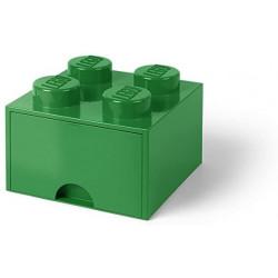 Lego Brick Drawer Green 4 Units