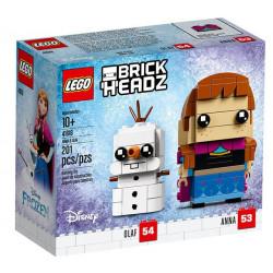 Lego Brickheadz Anna e Olaf 41618