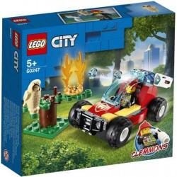 Loje Lego City Forest Fire 60247