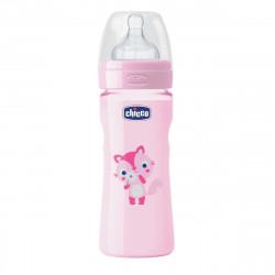 Chicco Shishe Plastike me Biberon Silikoni Roze, 250 ml 2 pika