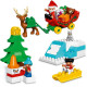 Lego Duplo Town Santa's Winter Holiday 10837
