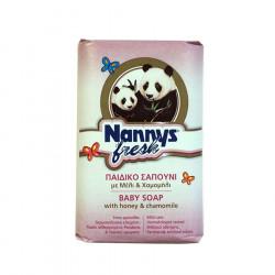 Nannys Sapun Bebesh 100 gr me Kamomil dhe Mjalte