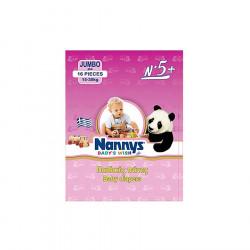 Nannys Pelena Baby Wish N.5+ (15-30 kg) 16 cope