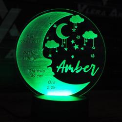 Plexiglass  me ndriçim Led i Personalizuar
