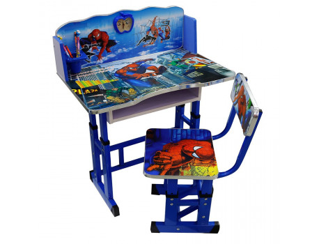 Tavoline Studimi me Karrige Spider Man