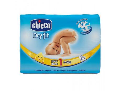 Chicco Pelena Nr. 1  27 cope per foshnje te porsalindur 2-5kg