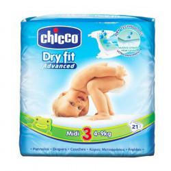 Chicco Pelena Nr. 3 Midi 21 cope per femije 4-9kg
