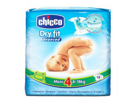 Chcco Pelena Nr. 4 Maxi 19 cope per femije 8-18kg