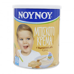 Noynoy Krem Biskote me 7 Drithera, Mjalte dhe Qumesht 300g