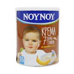 Noynoy Krem me 7 Drithera, me Banane dhe Qumesht