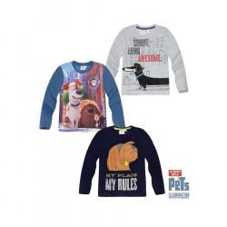 Bluze per Djem me Menge te Gjata 4 - 10 Vjec