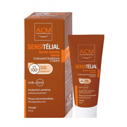 Krem Mrojtes Sensitelial Crem Gold Tint SPF 100+ 40 ml