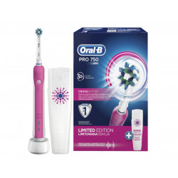 Furce Dhembesh Elektrike Oral-B 750 Dna Pink