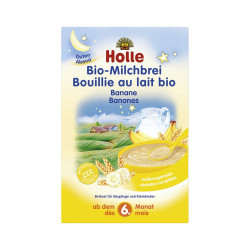 Holle Qumesht Organic Milk Cereal Whith Bananas