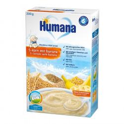 Humana Pure Banane me 5 Lloje Dritherash 200 g