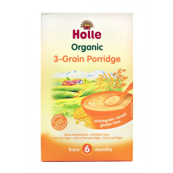 Holle Pure Dritherash Organic 3-Grain Porridge