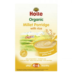 Holle Pure Orizi Organic Millet Porridge 250gr