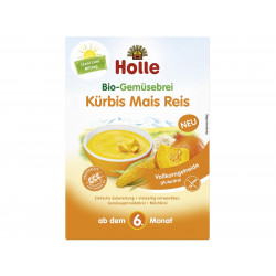 Holle Pure Perimesh Vegetable Porridge Pumpkin Maize