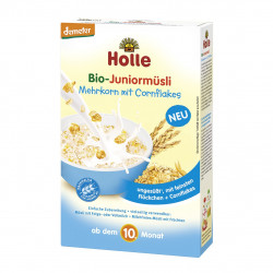 Holle Drithera Organic Junior Muesli Multigrain with Cornflakes