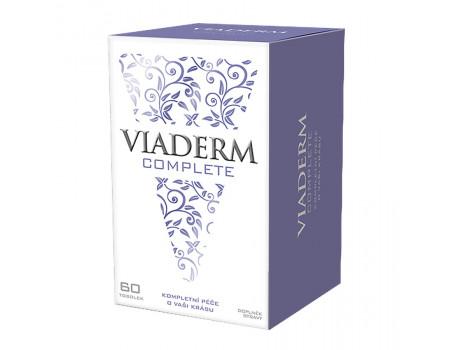 Suplement Ushqimor me Vitamina Viaderm Complete