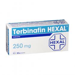 Tableta per Trajtimin e Infeksioneve te Lekures Terbinafin  250 mg