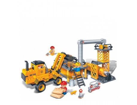 "BanBao Set ndertimi ""Constrution"" Automjet Ndertimi"