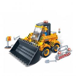 "BanBao Set Ndertimi ""Constrution"" Mini Ekskavator"