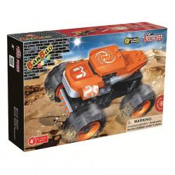 "BanBao Set Ndertimi ""Turbo Power"" Monster Makine Gare me Kurdisje"